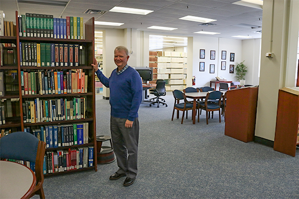 Mark Dickey, ORNL reference librarian
