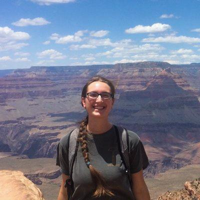 Rose Borden at Grand Canyon