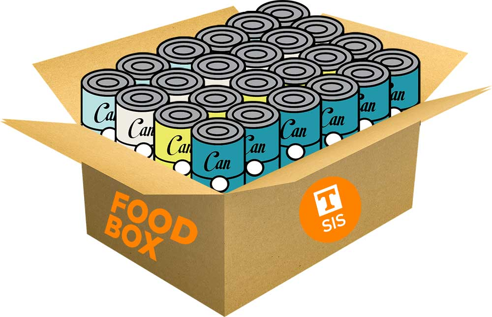 Graphic of SIS Food Box