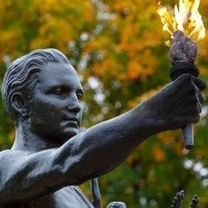 Torchbearer at Circle Park