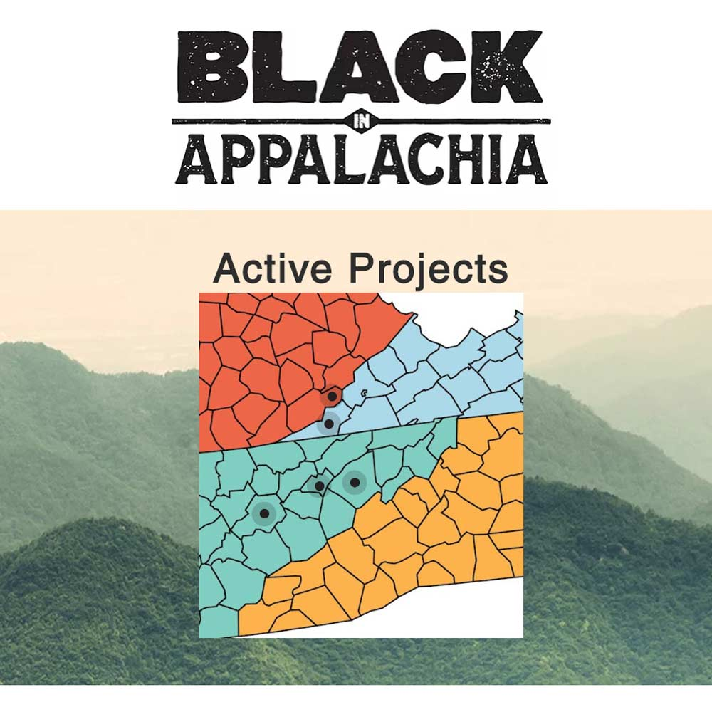Black in Appalachia Logo