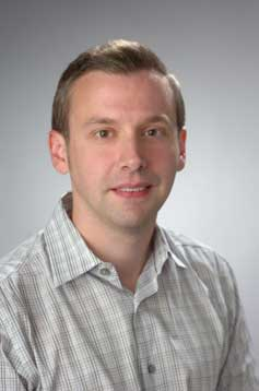 Brian Dobreski, new faculty member