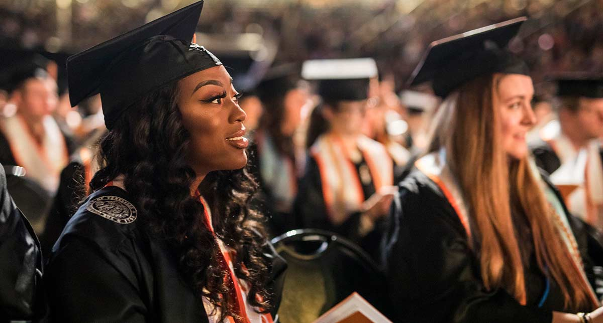 Master's Student Graduating