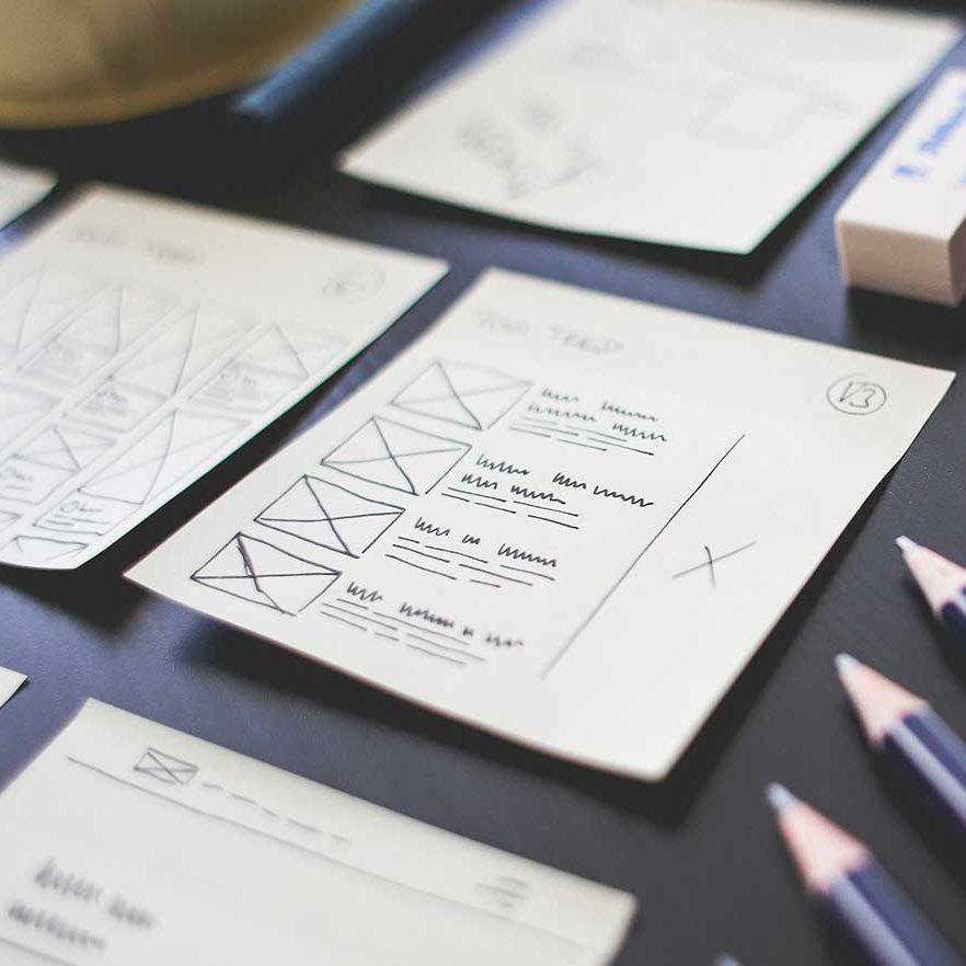 UX Design Wireframes