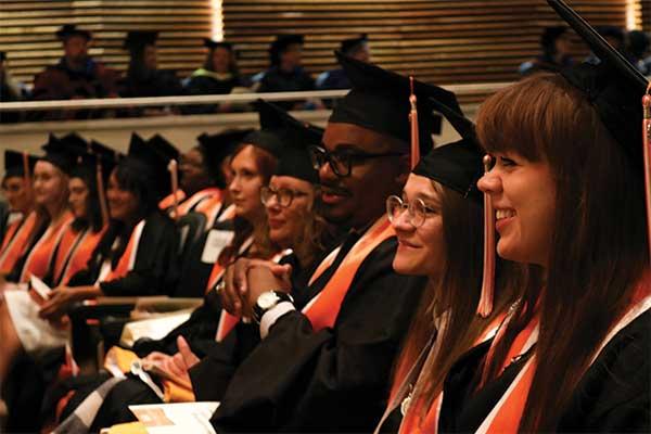 SIS Students at Graduation